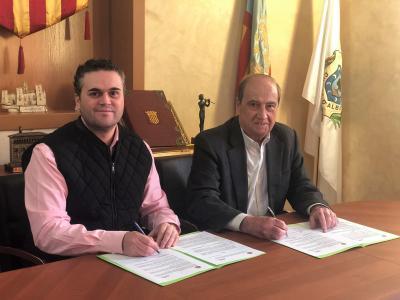 Convenio colaboración Ayto Albaida y CEEI