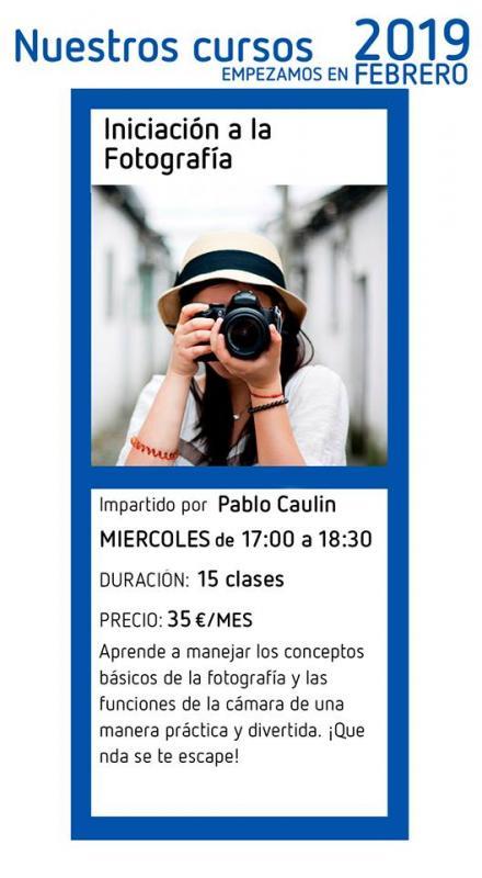 Curso de Iniciación a laFotografía