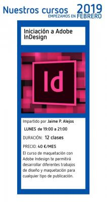 Curso de Iniciación a Adobe InDesign