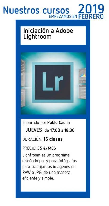 Curso de Iniciación a Adobe Lightroom