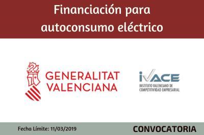Financiación autoconsumo eléctrico