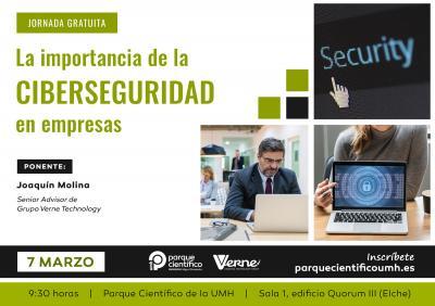 El ponente busca concienciar de los riesgos que supone no contar con buenos sistemas de defensa digital