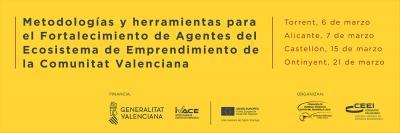 Presentación metodologías y herramientas para el fortalecimiento de los agentes del ecosistema emprendedor CV