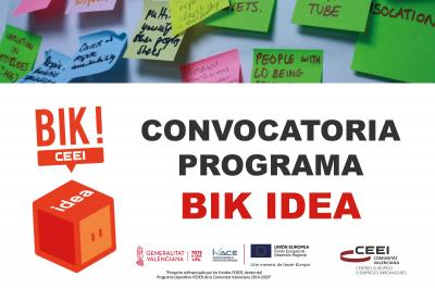 Imagen Convocatoria BIK IDEA
