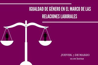 Igualdad de género en el marco de las relaciones laborales