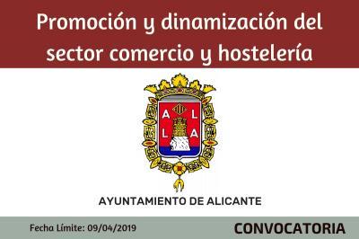 Subvenciones para proyectos de promoción y dinamización del sector comercio y hostelería