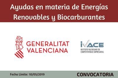 Ayudas en materia de Energías Renovables y Biocarburantes