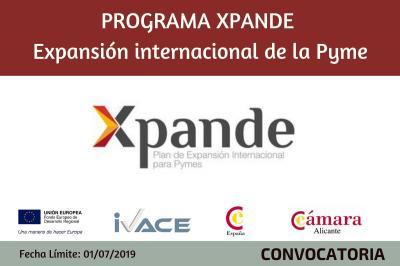 Programa Xpande Expansión Internacional de la Pyme