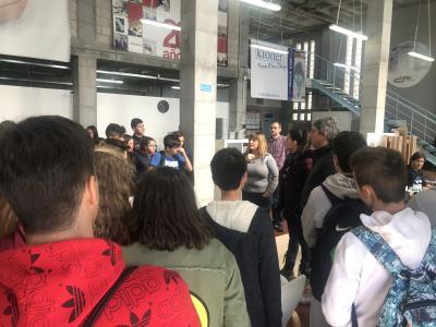 El colegio Franciscanas de Alicante visita el CEEI Elche