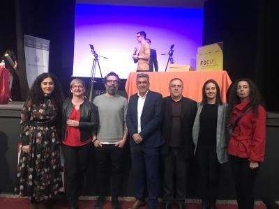 Miembros de la organización en Focus Pyme y Emprendimiento Baix Vinalopó 2019
