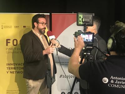 Entrevista Arístides Cruz Sanjuán. Focus Pyme y Emprendimiento Baix Vinalopó 2019