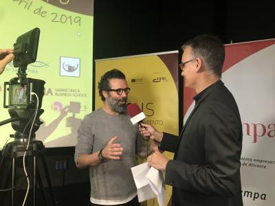 Entrevista Daniel Álvarez. Focus Pyme y Emprendimiento Baix Vinalopó 2019