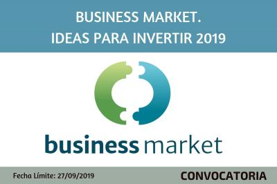 Business Market. Idees per a invertir 2019