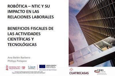 Robótica - NTIC  y su impacto en las relaciones laborales