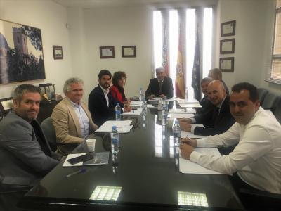 Reunión Junta Directiva CEEI Elche
