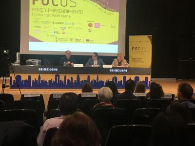 Apertura institucional. Focus Pyme y Emprendimiento Marina Baixa y Marina Alta