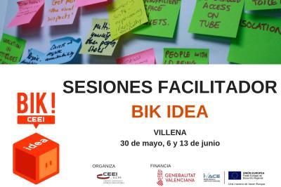 Sesión Facilitadores BIK IDEA en Villena