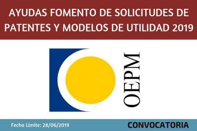 Ayudas para el fomento de solicitudes de patentes y modelos de utilidad en el exterior