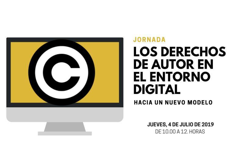 Recordatorio de asistencia Jornada los derechos de autor en el entorno digital