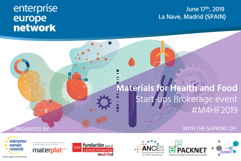 Materials for Health and Food Start-ups Brokerage event