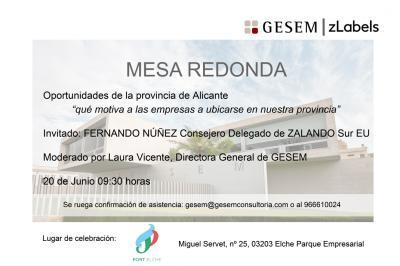 Mesa redonda: Oportunidades de la provincia de Alicante