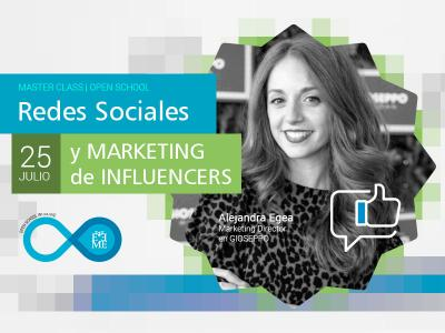 Master Class: Redes Sociales y Marketing de Influencers