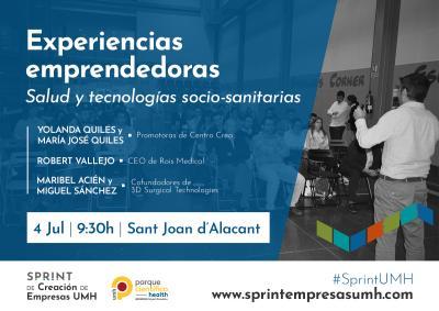 Participarán las spin-offs Centro CREA, 3D Surgical Technologies y la start-up ROIS Medical