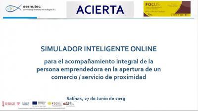 ACIERTA, Simulador Inteligente Online.