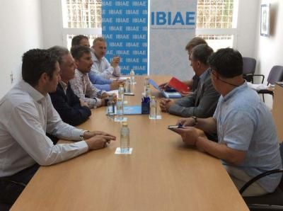 Reunión Plataforma con el Conseller de Economía