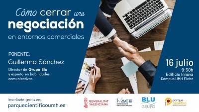 El encargado de impartir esta jornada será el experto en habilidades de comunicación Guillermo Sánchez