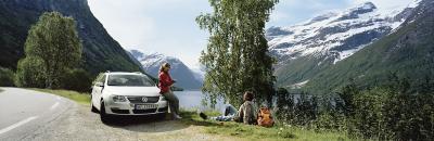 Conducir en Noruega