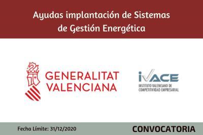 Ayudas Implantación de sistemas de gestión energética