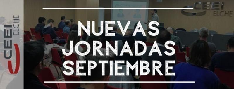 Inscríbete en las jornadas que hemos organizado para septiembre
