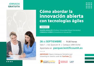 La jornada estará impartida por la consultora en innovación Consuelo Verdú y por el experto Ramón Miralles