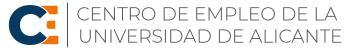 Centro de Empleo de la Universidad de Alicante