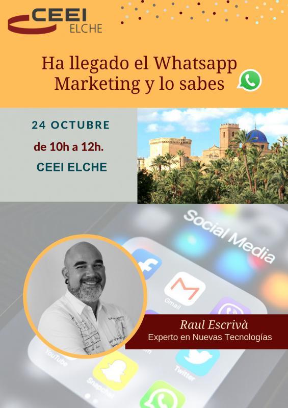 ¡¡Ha llegado el Whatsapp Marketing y lo sabes!!