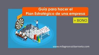 Plan Estratégico, y su paso a paso en imágenes