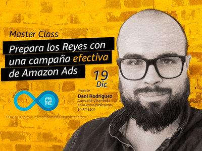 Master Class: Prepara los Reyes con una campaña efectiva de Amazon Ads