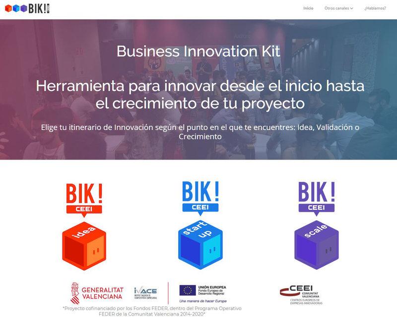 ¡¡Idea + valida + escala tu proyecto con la #herramienta online BIKCEEI!!