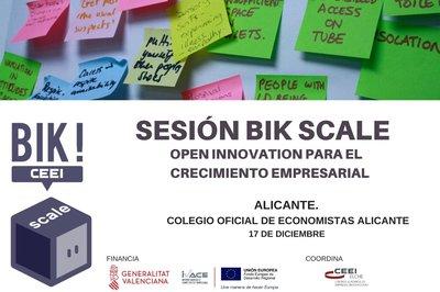 BIK SCALE: Open Innovation para el crecimiento empresarial.