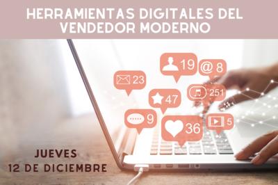 Herramientas digitales del vendedor moderno