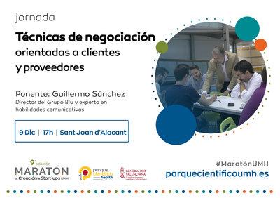La jornada estará impartida por el socio director del grupo BLU y experto en habilidades comunicativas, Guillermo Sánchez
