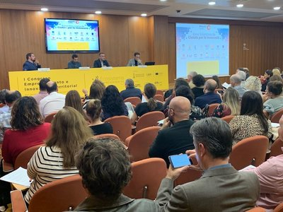 Plenario. I Congreso Emprendimiento e Innovación Territorial de la Comunitat Valenciana
