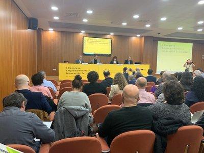 Inauguración del I Congreso Emprendimiento e Innovación Territorial CV