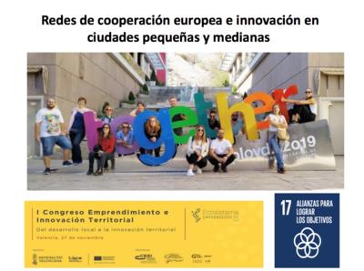 Redes de cooperación europea e innovación en ciudades pequeñas y medianas