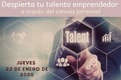 Despierta tu talento emprendedor a través del canvas personal