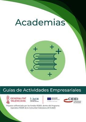 Actividades de Formación. Academias