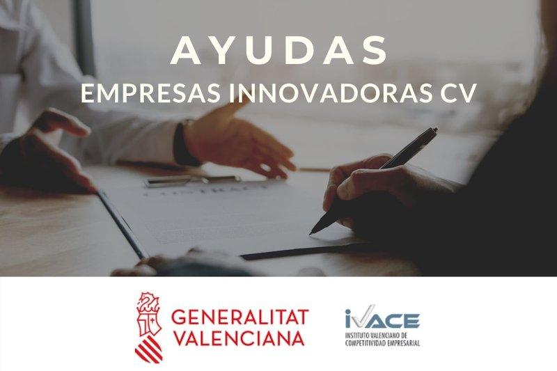 ¡Consulta las ayudas disponibles para empresas innovadoras de la Comunitat Valenciana