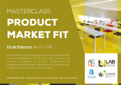MASTERCLASS: PRODUCT MARKET FIT