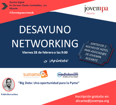 Desayuno Networking Jovempa
